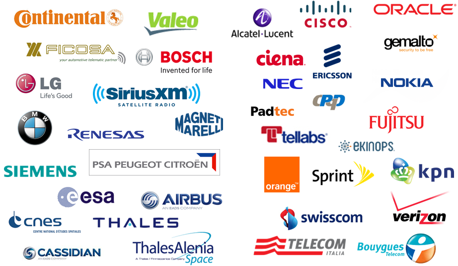 Major telecommunications players have selected Marben